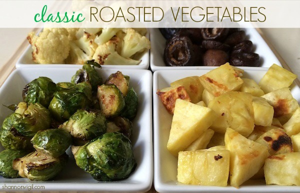 Classic Roasted Vegetables