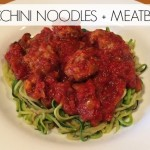 zucchini noodles and meatballs svwellness