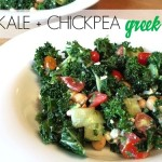 Kale Chickpea Greek Salad