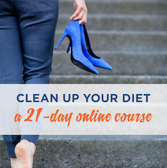 clean up your diet online program