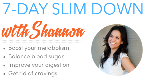 7-day slim down whole foods detox