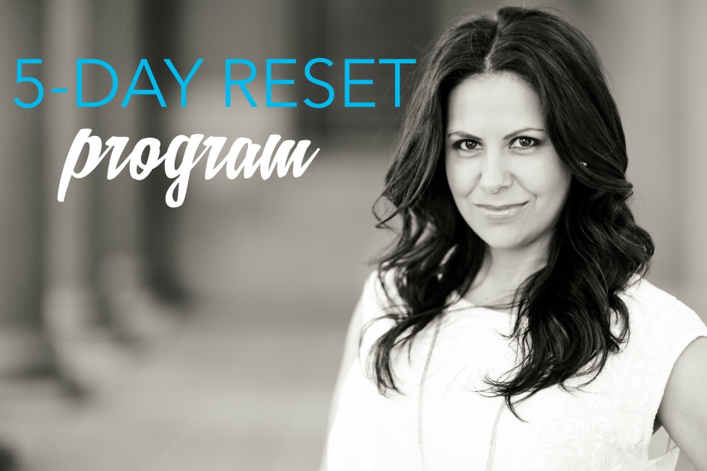 5 day reset program