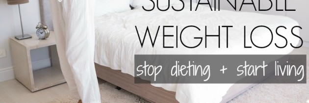The Road To Sustainable Weight Loss