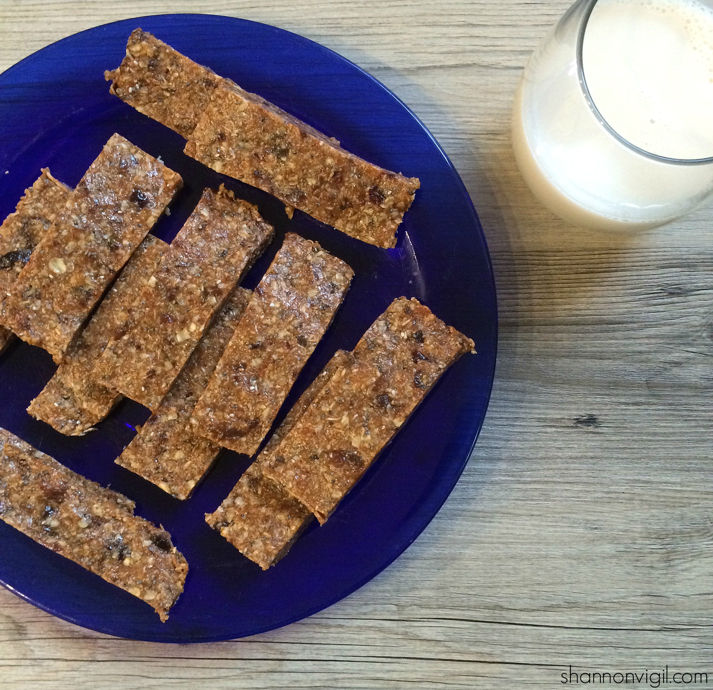 no-bake whenever bars